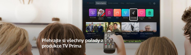 Přehrajte si všechny pořady z produkce TV Prima